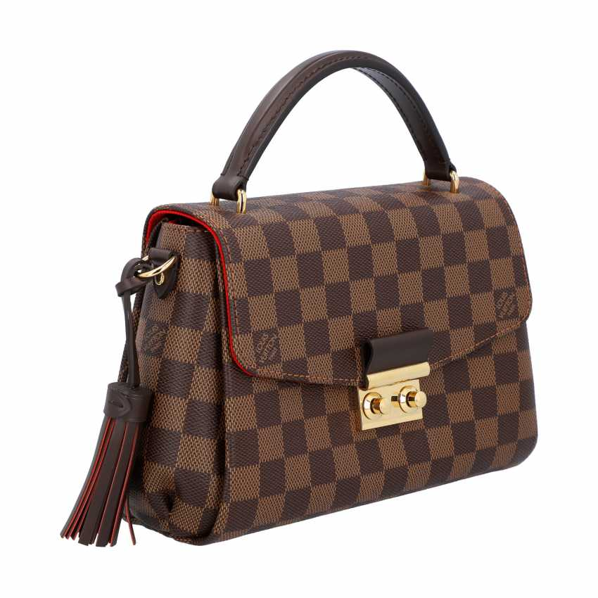 """LOUIS VUITTON handbag """"CROISETTE"""", in the collection in 2016. - photo 2"""