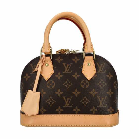 """LOUIS VUITTON handbag """"ALMA BB"""", collection 2013. - photo 1"""