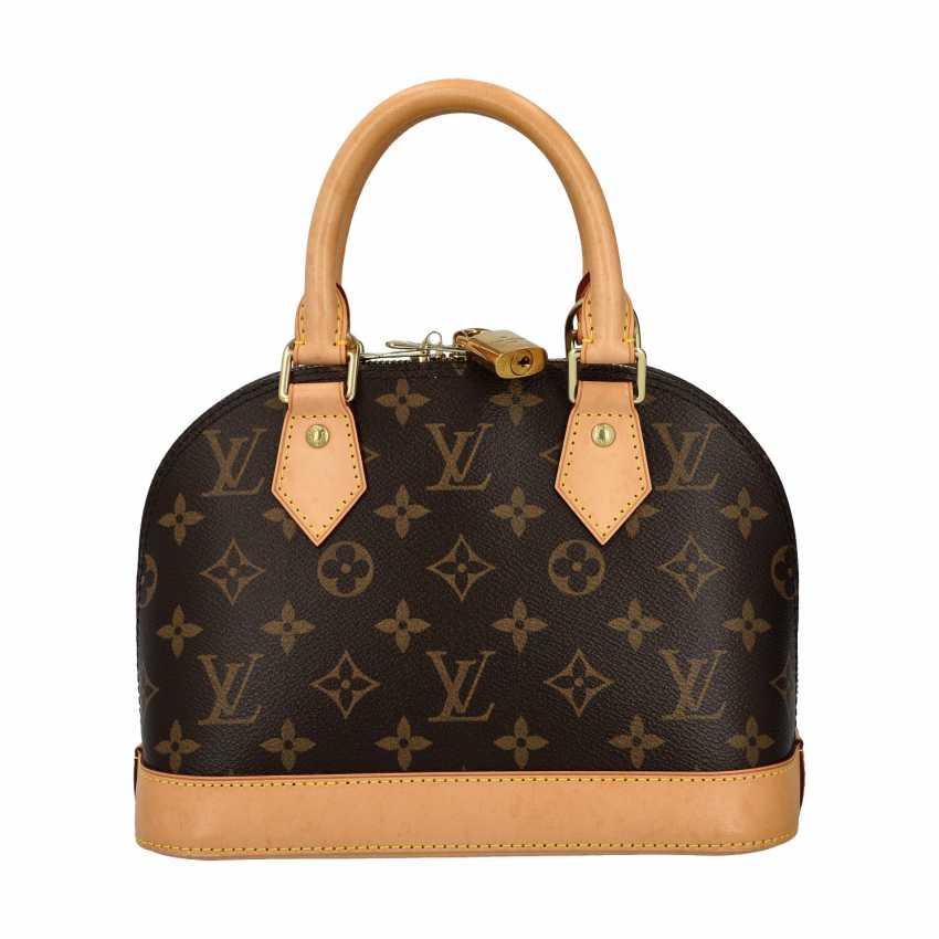 """LOUIS VUITTON handbag """"ALMA BB"""", collection 2013. - photo 4"""