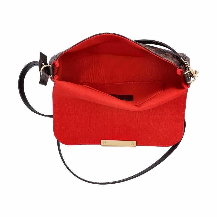 "LOUIS VUITTON shoulder bag ""FAVORITE PM"", collection of 2017. - photo 6"