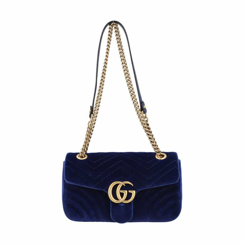 """GUCCI shoulder bag """"GG MARMONT"""", current new price: 1.390,-€. - photo 1"""