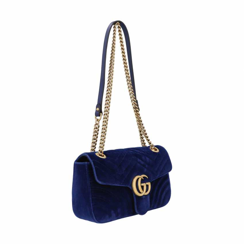"""GUCCI shoulder bag """"GG MARMONT"""", current new price: 1.390,-€. - photo 2"""