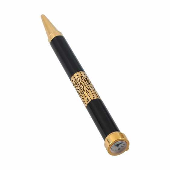 """CARTIER ball pen """"PEN WATCH WITH CALENDAR"""". - photo 3"""