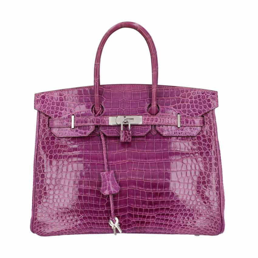 "HERMÈS handle bag ""BIRKIN 35"", collection: 2006, new price: approx. € 40.000,-€. - photo 1"