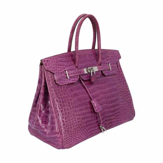 "HERMÈS handle bag ""BIRKIN 35"", collection: 2006, new price: approx. € 40.000,-€. - photo 2"