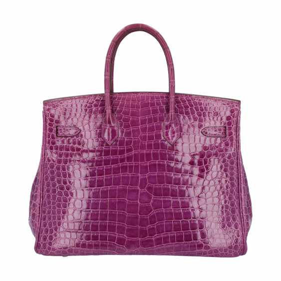 "HERMÈS handle bag ""BIRKIN 35"", collection: 2006, new price: approx. € 40.000,-€. - photo 4"