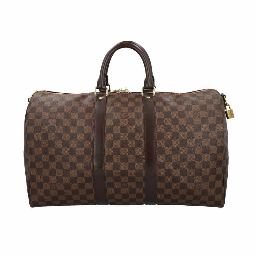 """LOUIS VUITTON weekend bag """"KEEPALL 45"""", collection: 2014, current new price: 1.420,-€. - photo 1"""