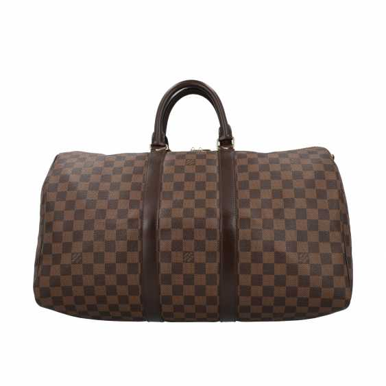 """LOUIS VUITTON weekend bag """"KEEPALL 45"""", collection: 2014, current new price: 1.420,-€. - photo 4"""