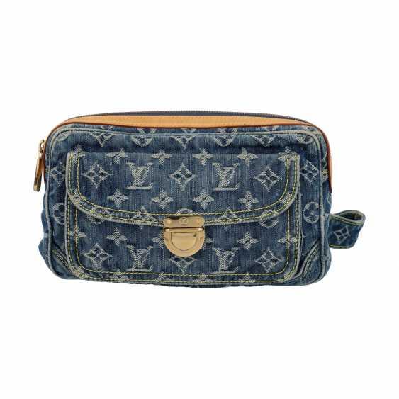 "LOUIS VUITTON waist bag, ""BUM BAG DENIM BLUE"", collection: 2007. - photo 1"