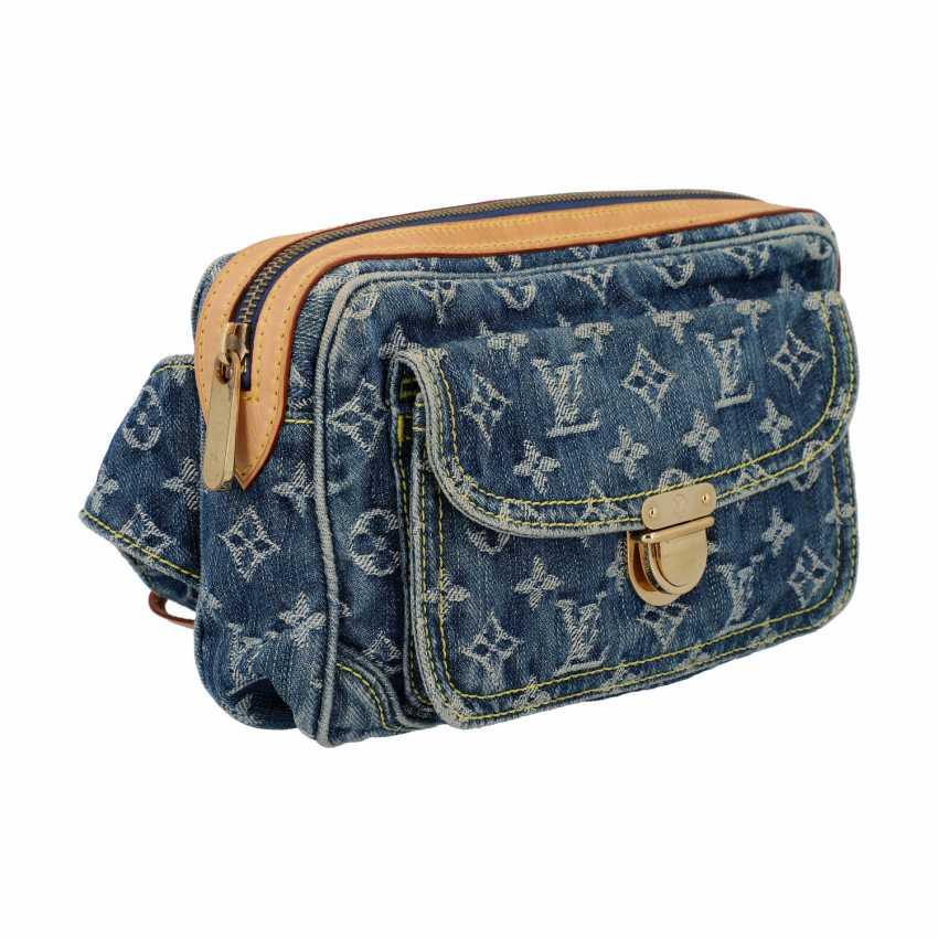 "LOUIS VUITTON waist bag, ""BUM BAG DENIM BLUE"", collection: 2007. - photo 2"