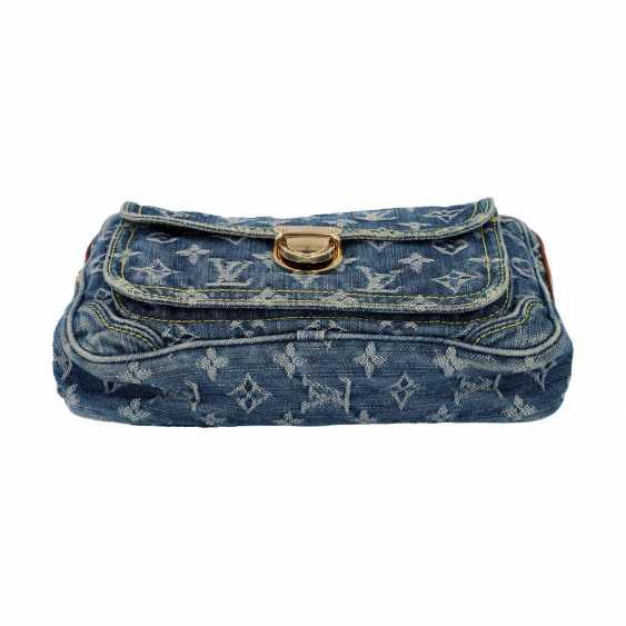 "LOUIS VUITTON waist bag, ""BUM BAG DENIM BLUE"", collection: 2007. - photo 5"