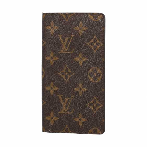 LOUIS VUITTON pass case collection: 2008, current price: 225,-€. - photo 1
