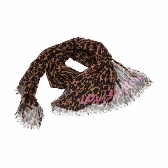 "LOUIS VUITTON scarf ""LEOPARD STOLE"", new price: 615,-€. - photo 1"
