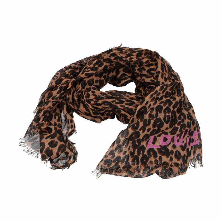 "LOUIS VUITTON scarf ""LEOPARD STOLE"", new price: 615,-€. - photo 2"