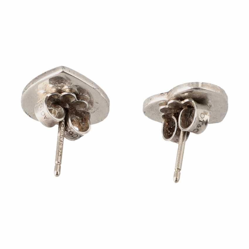 "TIFFANY & CO stud earrings ""MINI heart earrings"", current new price: 200,-€. - photo 4"