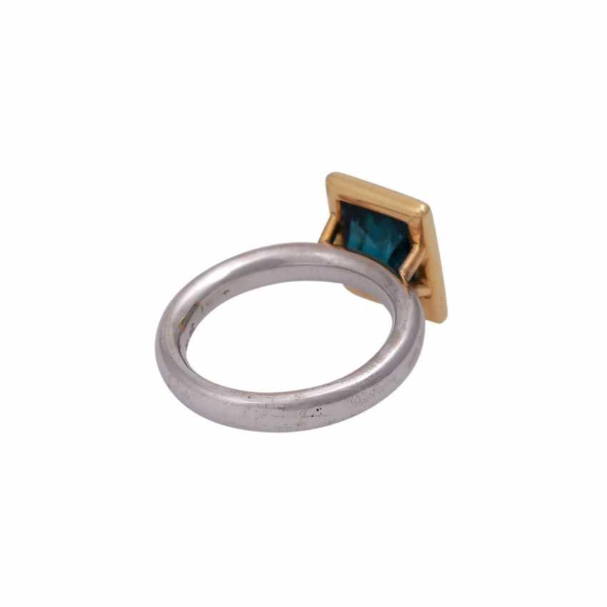 JACOBI Ring mit Indigolith 4,86 ct, - photo 3