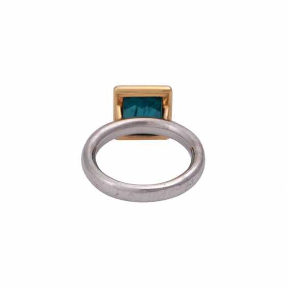 JACOBI Ring mit Indigolith 4,86 ct, - photo 4
