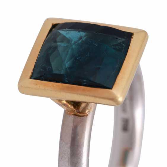 JACOBI Ring mit Indigolith 4,86 ct, - photo 5