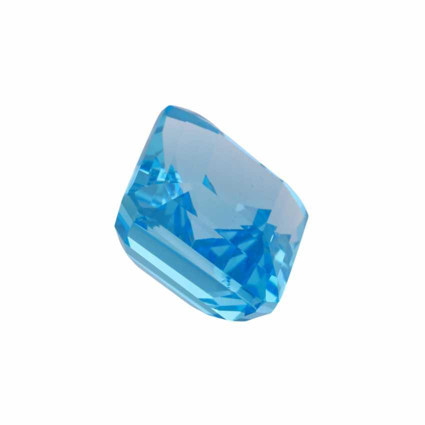 Loser Blautopas ca. 68,65 ct, - photo 2