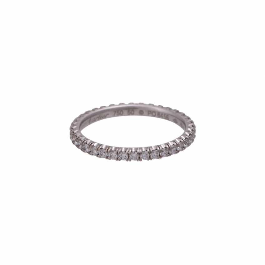 CARTIER eternity ring set with brilliant-cut diamonds together approximately 0.9 ct - photo 1