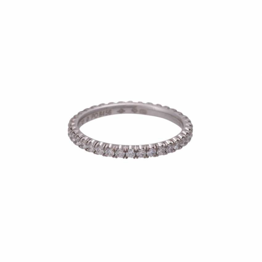 CARTIER eternity ring set with brilliant-cut diamonds together approximately 0.9 ct - photo 2