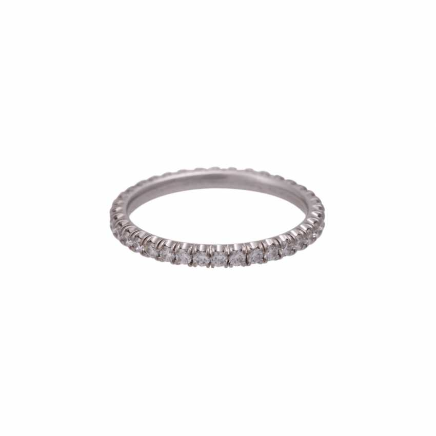 CARTIER eternity ring set with brilliant-cut diamonds together approximately 0.9 ct - photo 3