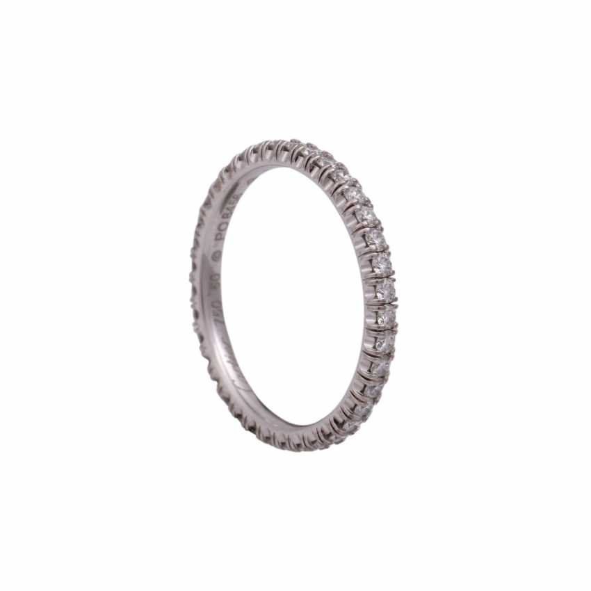 CARTIER eternity ring set with brilliant-cut diamonds together approximately 0.9 ct - photo 4
