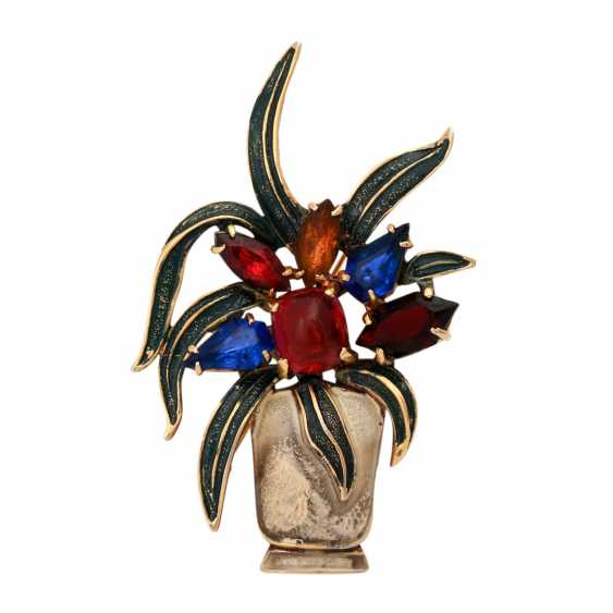 3 Brooches Fashion Jewelry, - photo 6