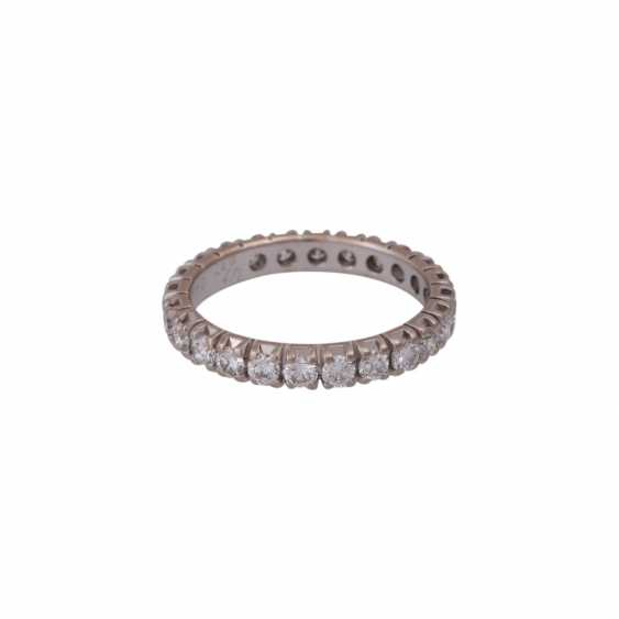 Memory Ring with brilliant-cut diamonds together approximately 1.6 ct - photo 2