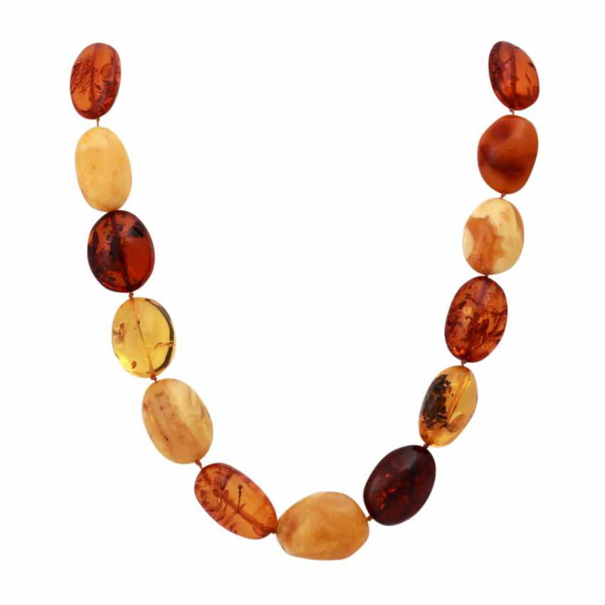 Set of 2 amber necklaces - photo 2