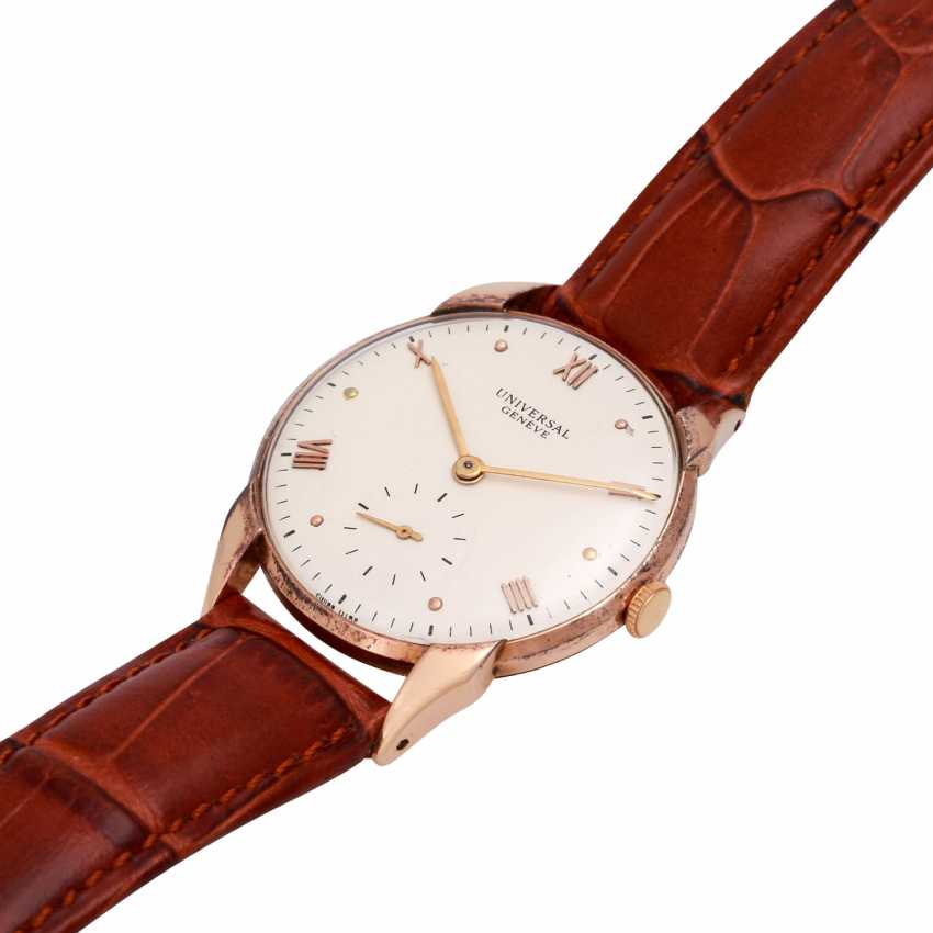 UNIVERSAL GENEVE Vintage, Ref. 1132565. Armbanduhr - photo 4