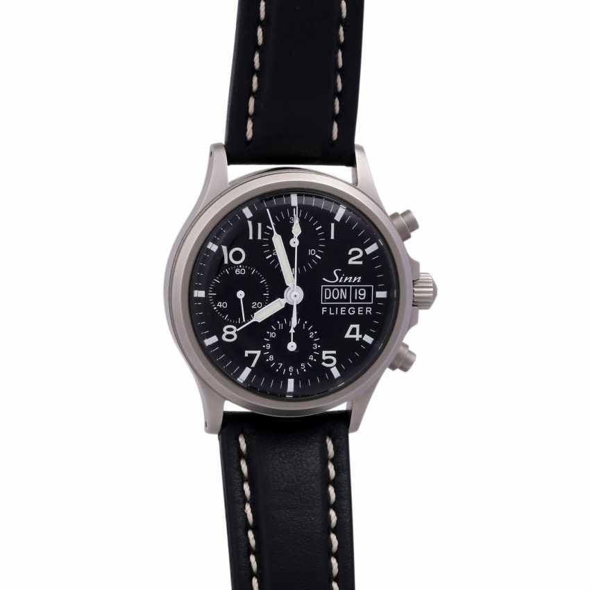 SINN 356 Flieger Chronograph, Ref. 356.020. Men's watch. - photo 1