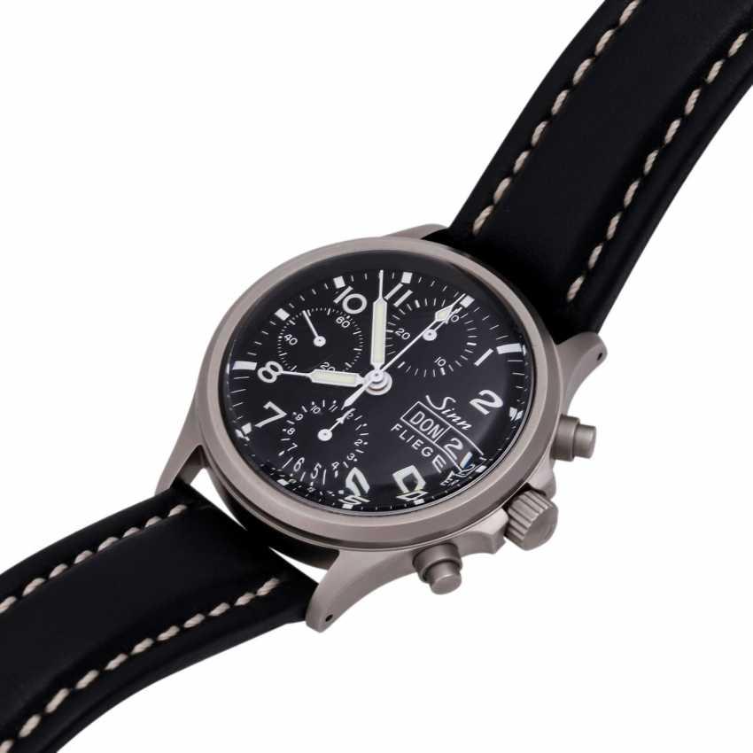 SINN 356 Flieger Chronograph, Ref. 356.020. Men's watch. - photo 4