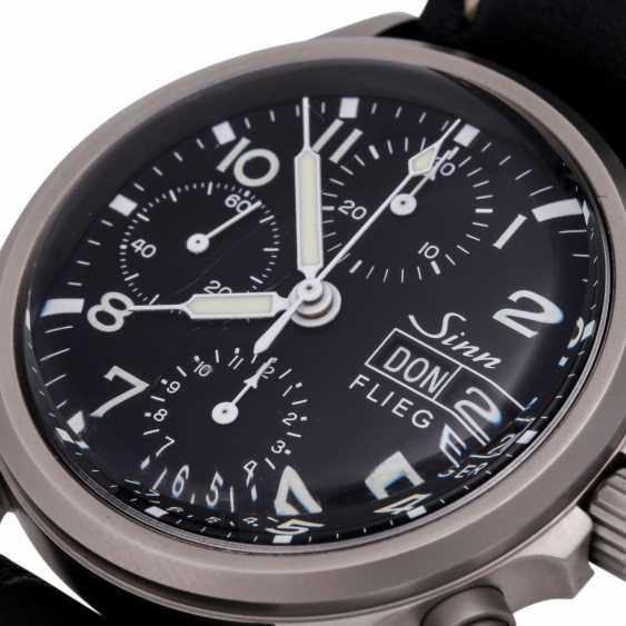 SINN 356 Flieger Chronograph, Ref. 356.020. Men's watch. - photo 5