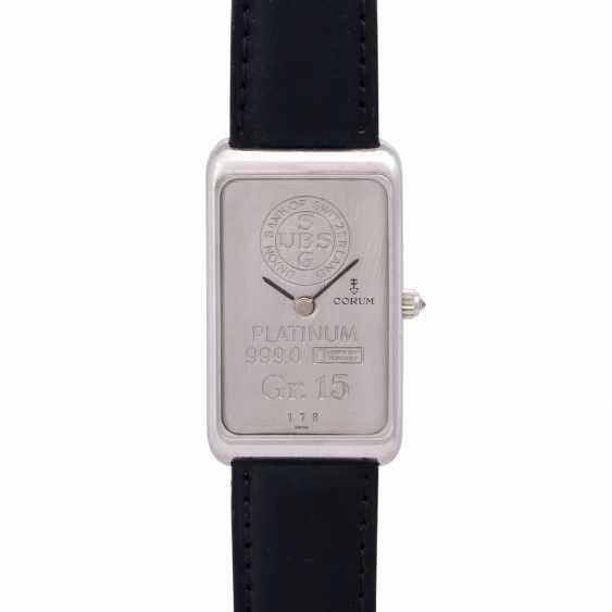 CORUM 15g platinum bullion. Men's watch. - photo 1