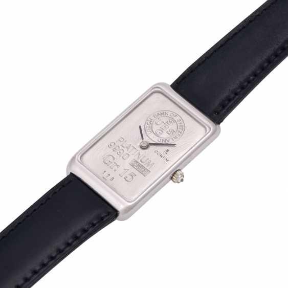 CORUM 15g platinum bullion. Men's watch. - photo 4