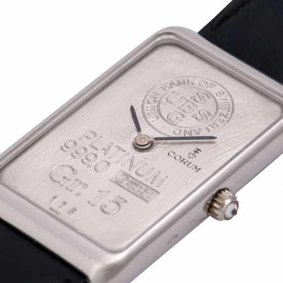 CORUM 15g platinum bullion. Men's watch. - photo 5