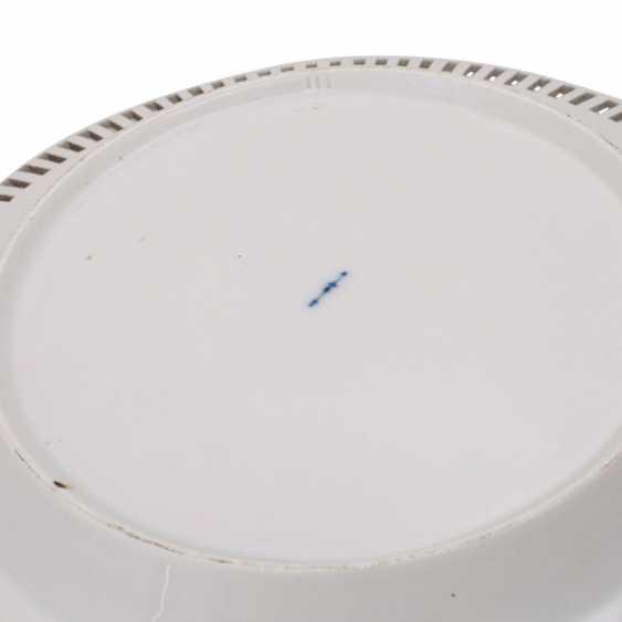 KPM breakthrough plate, around 1800. - photo 5