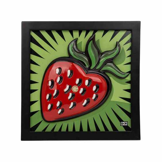 GOEBEL wall picture 'Strawberry', 21. Century. - photo 1