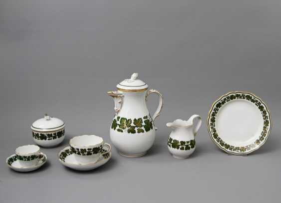 MEISSEN coffee service, a RARITY!, 1. and 2. Choice, 20. Century - photo 2