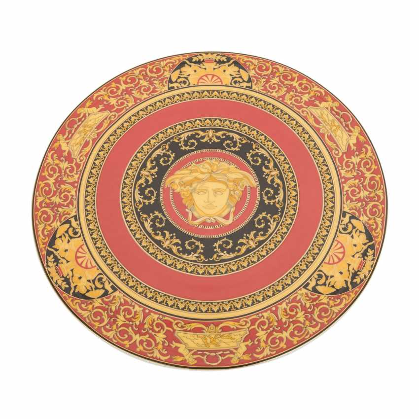 ROSENTHAL meets VERSACE cake plate 'Ikarus Medusa', 2. Choice, 20. Century - photo 3