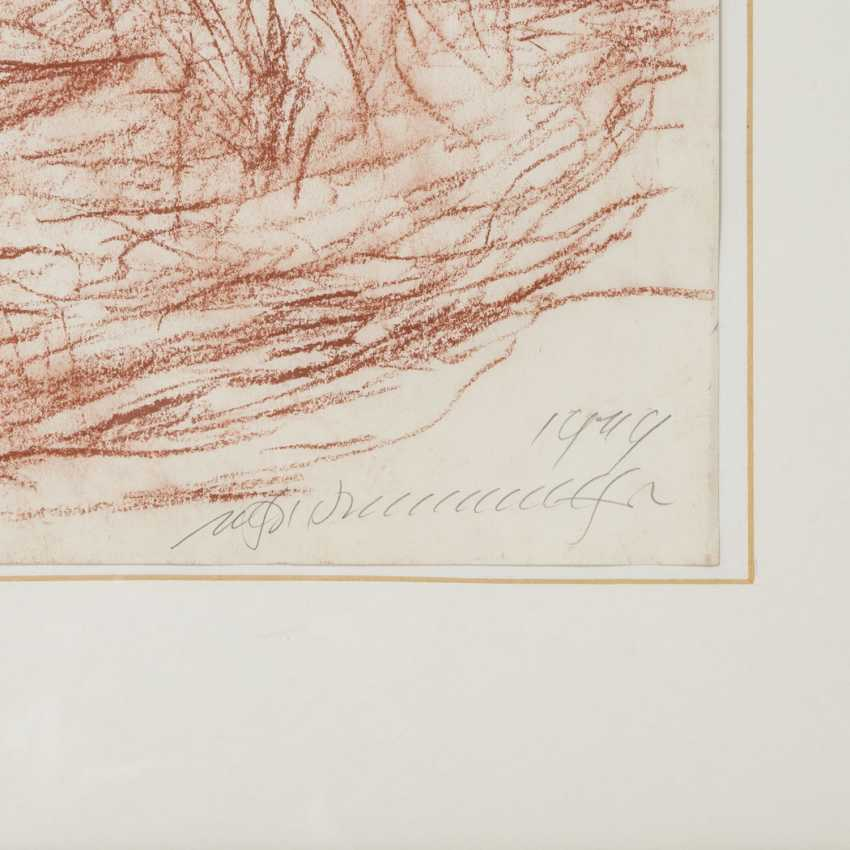 """HENNINGER, MANFRED (1894-1986), """"groups of figures on a forest edge"""", - photo 3"""