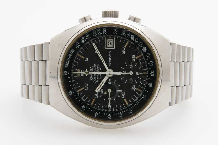 "OMEGA Herrenuhr ""Speedmaster Mark IV"", 1970s. - photo 1"
