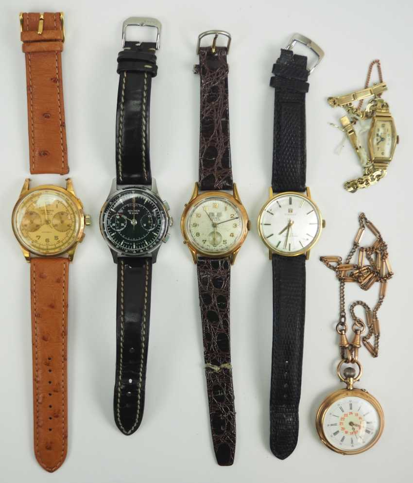 Lot of 5 wrist watches. - photo 1