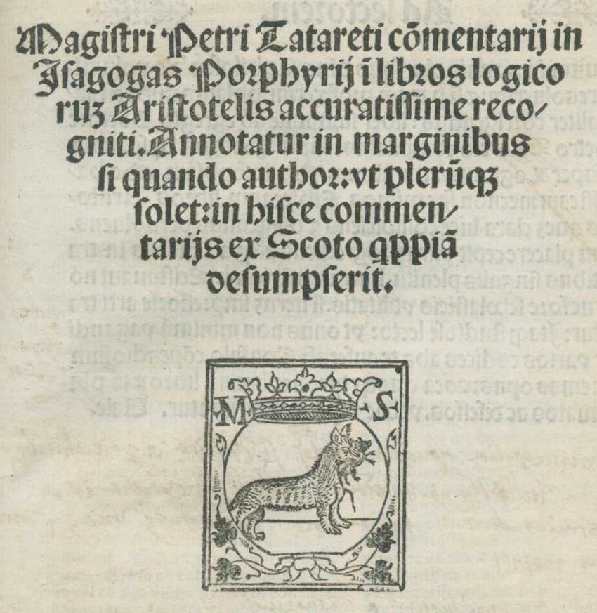 Tataretus,P. - photo 1