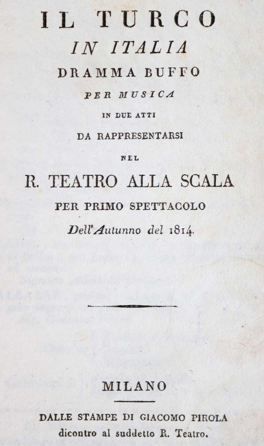 (Rossini,G.). - photo 1