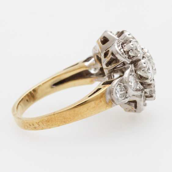 Ladies ring m. Diam occupied.-Brilliant - photo 3