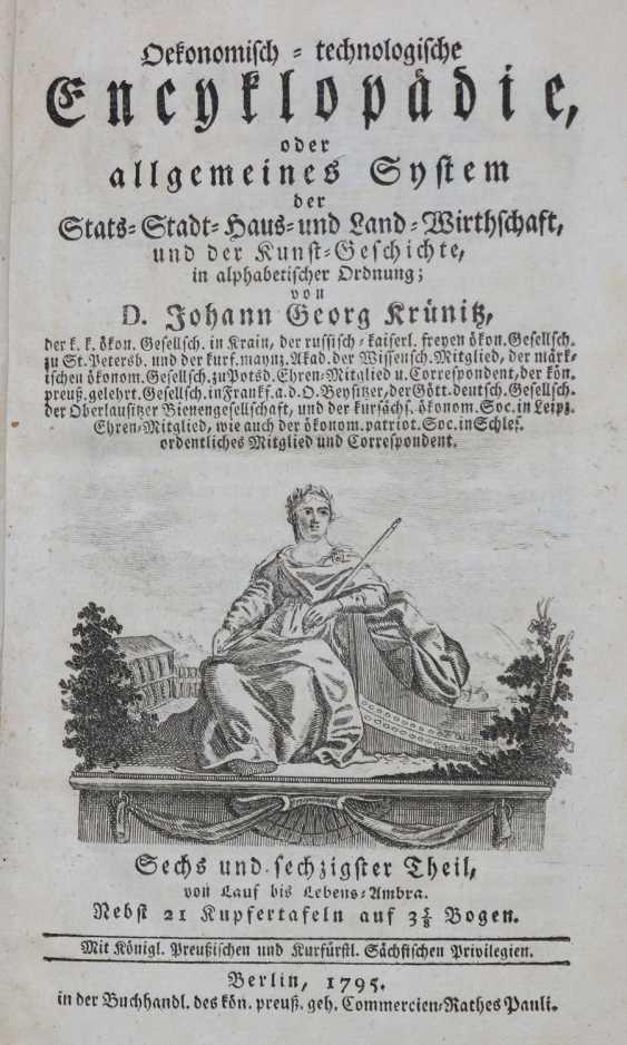 Krünitz,J. G. - photo 1