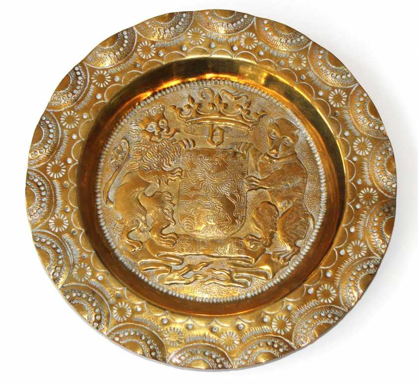 Bruges Coat Of Arms Plate - photo 1