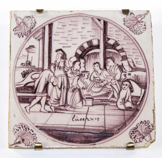 Biblical Tile Delft - photo 1